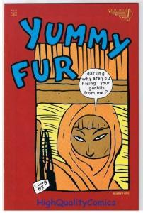 YUMMY FUR #1, VG+, Chester Brown, Indy, Vortex, 1986, more indies in store