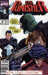 PUNISHER  (1987 Series)  (MARVEL) #42 NEWSSTAND Very Good Comics Book