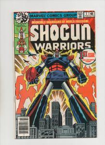 SHOGUN WARRIORS #1, VF+, Herb Trimpe, Mattel, Marvel, 1978 more in store