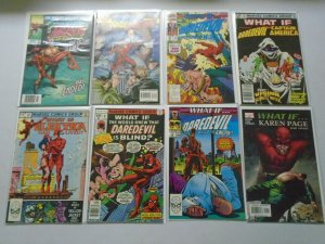 What If? lot 8 different Daredevil issues 8.0 VF