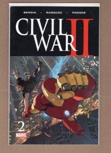 Civil War II #2 (2016)