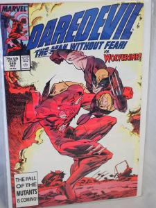 Daredevil The Man Without Fear #249  VF Unread. Wolverine Appearance!