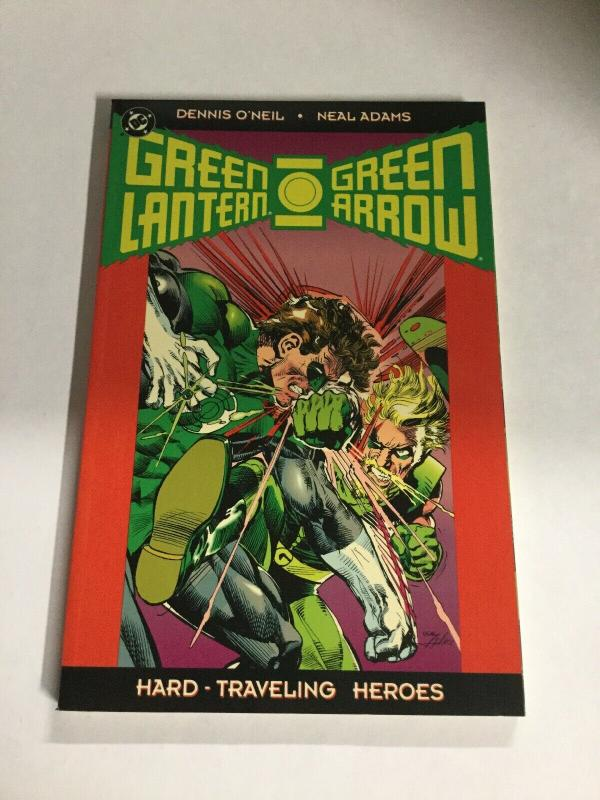 Green Lantern Green Arrow Hard Traveling Heroes Nm Near Mint SC TPB