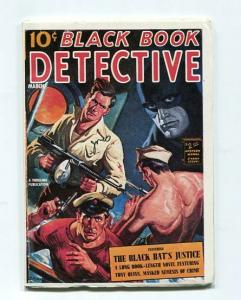 BLACK BOOK DETECTIVE-REPRODUCTION-LIMITED EDITION-THE BLACK BAT'S JUSTICE