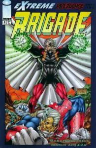 Brigade (1993 series) #8, VF (Stock photo)