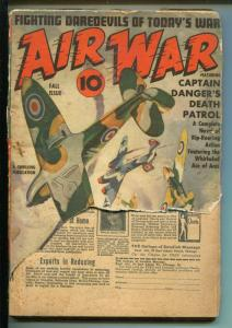 Air War-Fall 1941-Thrilling-pulp thrills-Captain Danger-FR/G