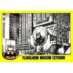 1989 Batman The Movie Series 2 Topps FLUGELHEIM MUSEUM EXTERIOR #167