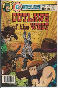 Outlaws of the West  #83 - Silver Age - Aug., 1979 (VF)