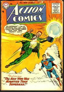 ACTION COMICS #209 SUPERMAN TOMMY TOMORROW 1955 CONGO BILL VG