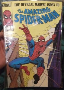 The official Marvel index to The Amazing Spider-Man #2 NM in original plastic