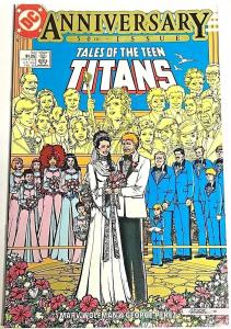 TALES OF THE TEEN TITANS#50 NM 1985 WEDDING ISSUE DC COMICS