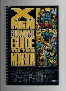 X-MEN SURVIVAL GUIDE TO THE MANSION #01 (1993)