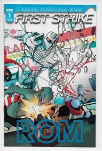 Rom First Strike #1 Cvr B (IDW, 2017) NM