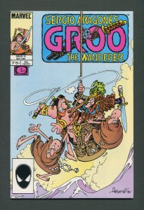 Groo The Wanderer #15  / 9.4 NM- 9.6 NM+  /  May 1986