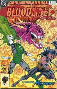 Green Lantern (1990 series) Annual #2, VF (Stock photo)