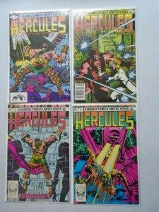Hercules set #1-4 6.0 FN (1982 1st Series)