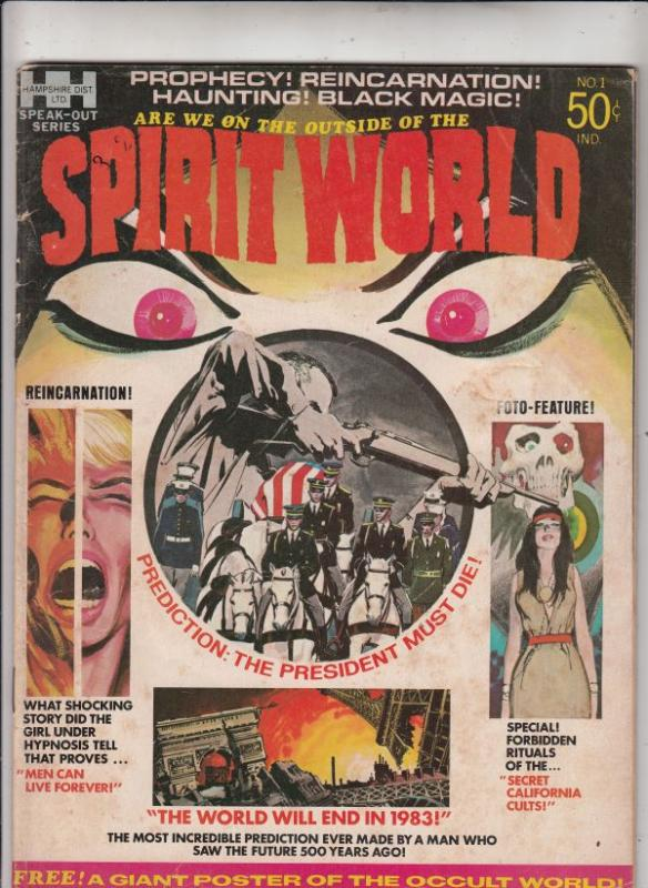 Spirit World #1 (Sep-71) VG Affordable-Grade