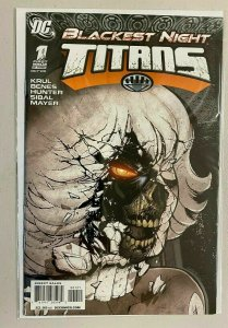 Blackest Night Titans #1 B Variant 6.0 FN (2009)