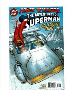 12 Superman DC Comics # 542 543 544 545 546 547 548 549 550 551 552 553 J408