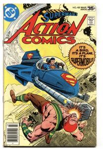 ACTION COMICS #481 comic book 1978- First appearance of SUPERMOBILE