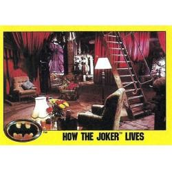 1989 Batman The Movie Series 2 Topps HOW THE JOKER LIVES #230
