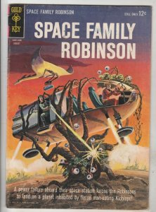 Space Family Robinson, Lost In Space #9 (Aug-64) FN/VF Mid-High-Grade Will Ro...