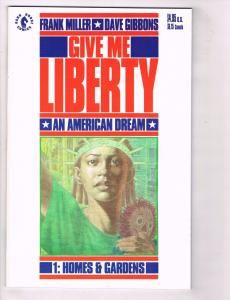 Give Me Liberty An American Dream Dark Horse Comics # 1 2 3 4 Frank Miller TW19