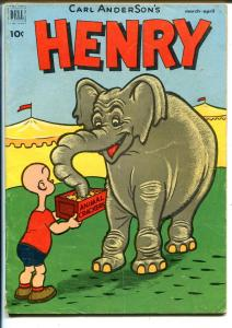Henry #24 1952-Dell-elephant cover-Carl Anderson art-G