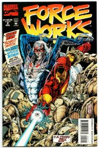 Force Works #2 Avengers / Iron Man / Spider-Woman (Marvel, 1994) VF