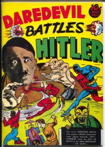 Flashback #1 1973-Reprints Daredevil Battles Hitler #1 from 1941-NM