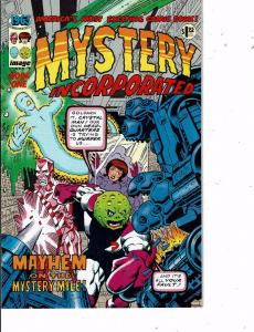 Lot Of 2 Comic Books Image Mystery Incorporated #1 and Escapes Fury #2   MS12