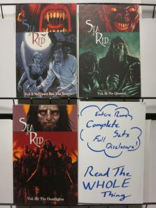 SEA OF RED TPB (2005 IMAGE) vol.1-3  the complete set!