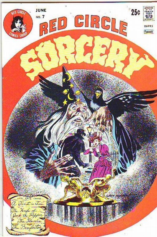Red Circle Sorcery #7 (Jun-74) NM/NM- High-Grade Jack the Ripper