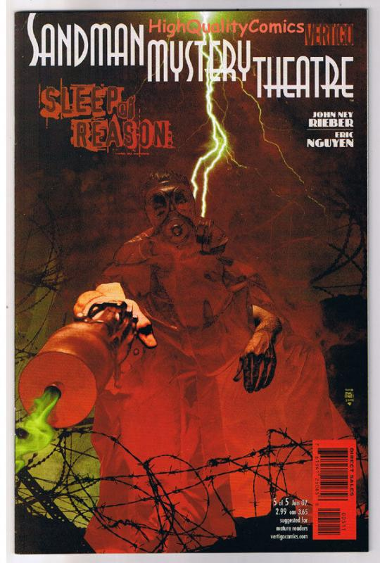 SANDMAN MYSTERY THEATRE #5, NM+, Sleep of, Vertigo, 2007, more in store