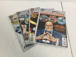 Superman's Nemesis Lex Luthor 1-4 Lot Set Run Nm Near Mint DC Comics IK