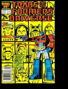 Lot Of 8 Comics Transformers Universe # 2 3 4 (2) The Movie # 2 (2) 3 (2)  WS4