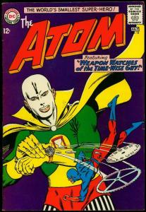 The Atom #13 1964- Gil Kane- Wild watch cover- DC Silver Age FN