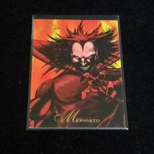 1994 FLEER FLAIR MARVEL #28 MEPHISTO NMMT