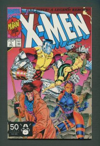 X-Men #1  (Colossus,Gambit Variant)  / 8.5 VFN+  / October 1991