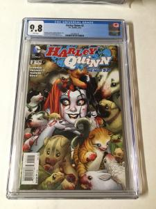 Harley Quinn 2 Cgc 9.8 Amanda Conner Cover