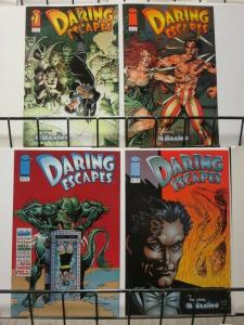 DARING ESCAPES 1-4  featuring HOUDINI complete set