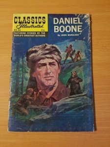 Classics Illustrated #96 - Daniel Boone ~ VERY GOOD VG ~ 1969 Gilberton HRN 166