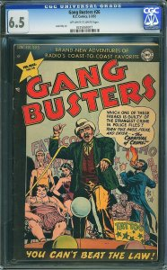 Gang Busters #26 (DC, 1952) CGC 6.5 - 2nd Highest Graded