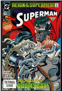 Superman #78 (DC, 1993)
