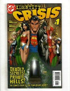 14 DC Comics Identity Crisis 1 2 3 4 5 6 7 Infinite Crisis 1 2 3 4 5 6 7 J504