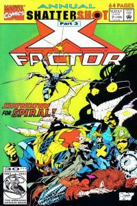 X-Factor (1986 series) Annual #7, NM (Stock photo)