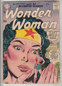Wonder Woman #90 (May-57) VG+ Affordable-Grade Wonder Woman