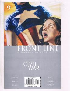 Civil War Frontline # 9 NM 1st Print Marvel Comic Book Spider-Man Avengers J103