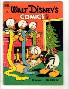 Walt Disney's Comics & Stories # 124 VG/FN Dell Comic Book Donald Nephews JL10