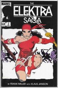Elektra Saga   #2 of 4 GD/VG (1984) Miller/Janson